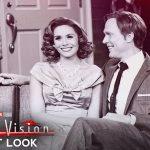 «ВандаВижн» — первый взгляд на Пола Беттани и Элизабет Олсен в стиле ретро